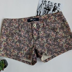 Tyte Brand Floral Jean Shorts